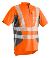 Husqvarna T-Shirt Technical High Viz Kurzarm EN20471 - orange