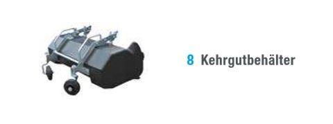 Bertolini Kehrgutbehälter mit Stahlrohrrahmen - 66303