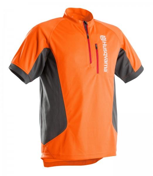 Husqvarna T-Shirt Technical Kurzarm Orange