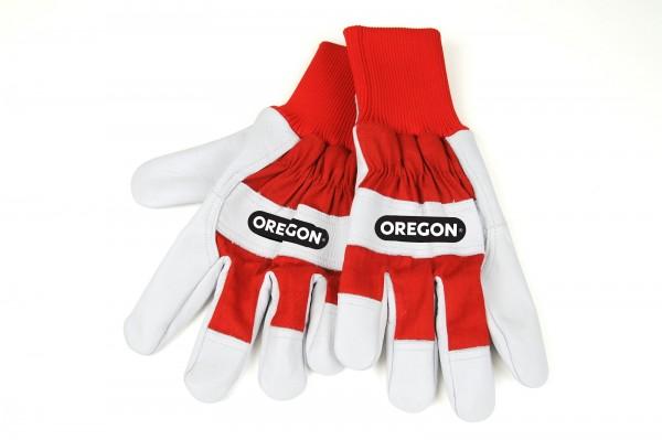 Oregon Leder- und Gewebe Arbeitshandschuhe - 542656