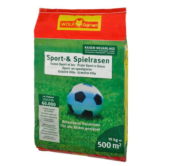 Wolf Garten Sport- und Spielrasen LG 500