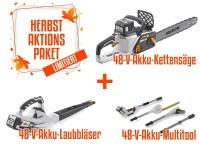 Alpina 48 V Akku Set 4 - C 1648 Li - MT 2148 Li - BL 548 Li inkl. Akku/Ladegerät