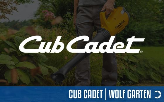 Cub Cadet Akku-Technik   Motorgeräte-Halberstadt