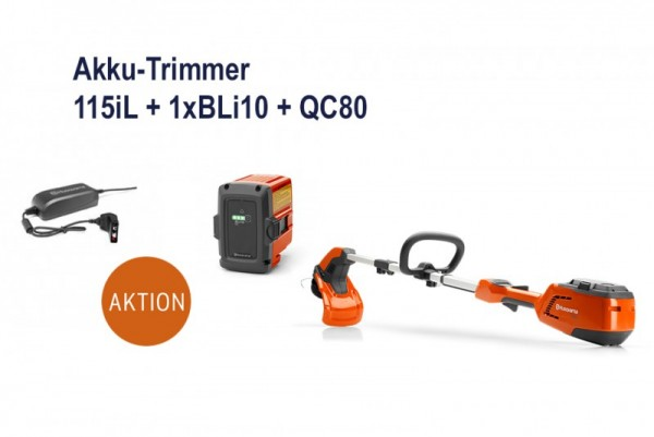 HUSQVARNA Trimmer Akku 115iL - Set 1