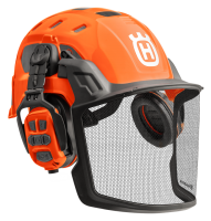 Husqvarna Technical Helm mit X-COM R Gehörschutz Bluetooth-Funk - 5950843-01