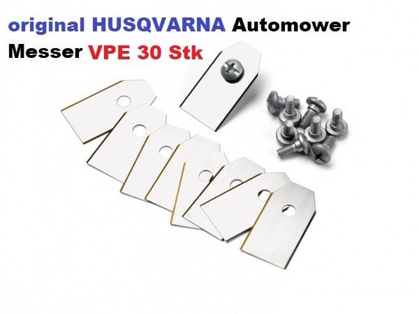 Husqvarna Automower Messer Carbon - 30er Pack