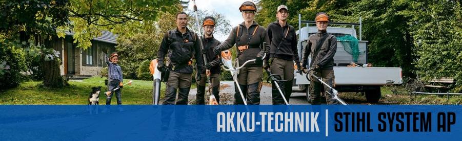 Akku-Technik System STIHL AP