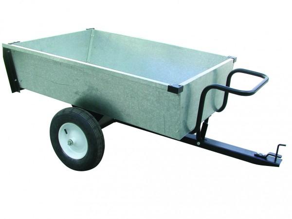 Black Edition Profi Gartenanhänger aus galvanisiertem Stahl - 320 kg