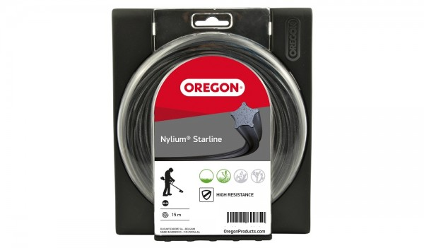 Oregon Freischneidefaden Nylium Starline 1,3mm x 15m - 533744
