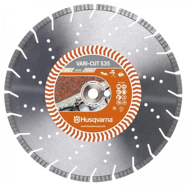 Husqvarna Diamantscheibe VARI-CUT S35 Ø 350 mm - 587 90 58-01