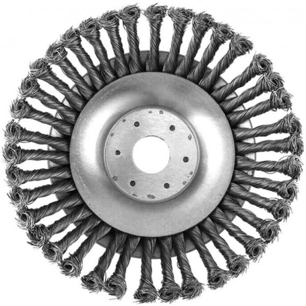Unkrautbürste aus Metall RUNDBÜRSTE 200 mm