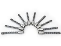 BLACK EDITION Tielbürger - 10 Satz Stahlborsten für Wildkrautbürste BW 500