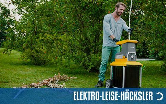 Elektro-Leise-Gartenhäcksler Sortiment