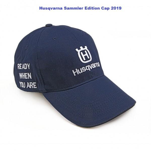 Husqvarna Baseball-Kappe Base Cap Navyblau - 582 39 69-01