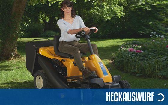 Rasentraktoren Heckauswurf | Motorgeräte Halberstadt
