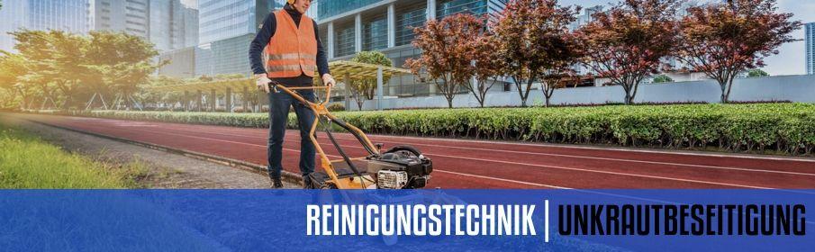 UNKRAUTBESEITIGUNGSMASCHINEN  | MOTORGERÄTE HALBERSTADT