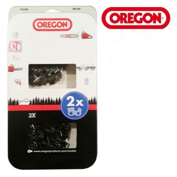 """Oregon Sägekette 21LPX 325"""" 1,5 mm 56TG VM PowerCut™ 33 cm 2 Stück - 21LPX056E"""