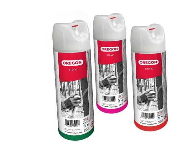 Oregon Markier Spray Weiß Fluo - Forstmarkierungsfarbe - 519412