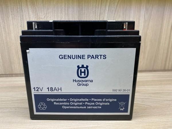 Husqvarna Batterie 12Volt / 18Ah - Wartungsfrei AGM