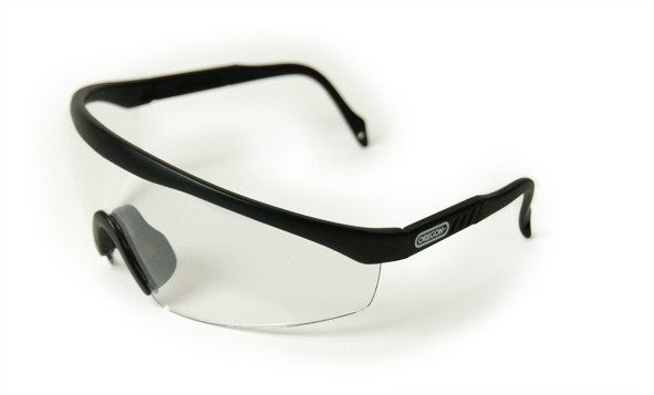 Oregon Schutzbrille Klar, Rahmen Schwarz - Q515068