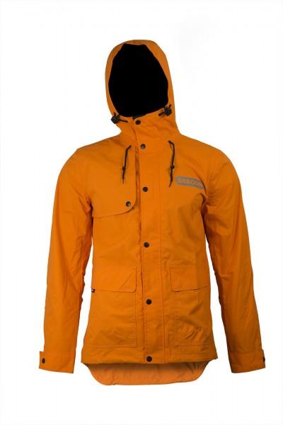 Oregon Regenjacke Orange mit Kapuze - 295451