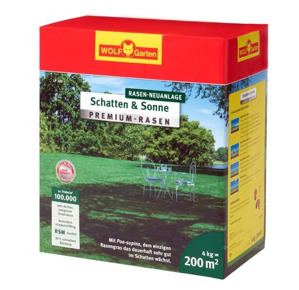 """Wolf Garten Premium-Rasen """"Schatten und Sonne"""" LP 200"""