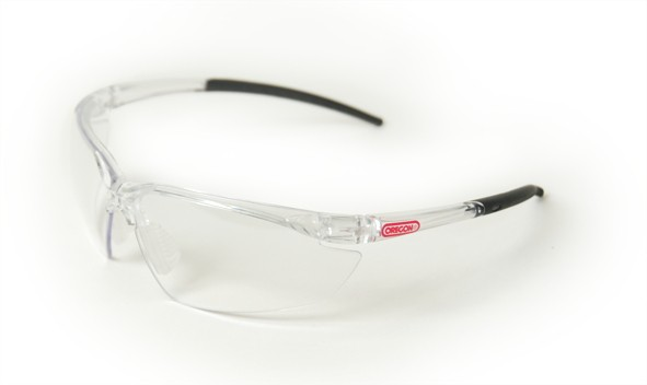 Oregon Schutzbrille Klar, Rahmen Transparent/Schwarz - Q545830