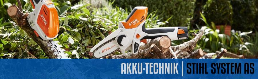 Akku-Technik System STIHL AS