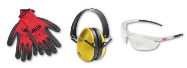 Oregon Gehörschutz, Schutzbrille, Arbeitshandschuhe Set - 572870