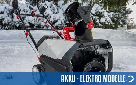 Akku - Elektro Schneefräsen - Sortiment