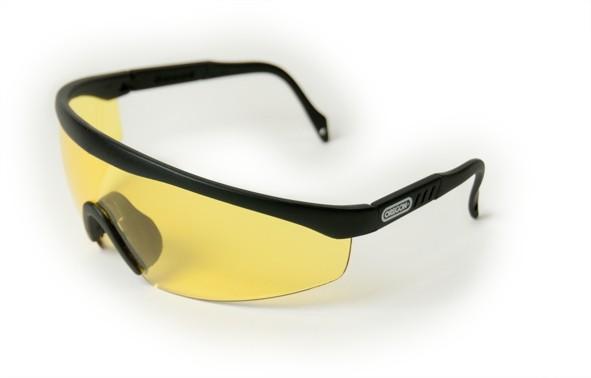 Oregon Schutzbrille Gelb, Rahmen Schwarz - Q515069